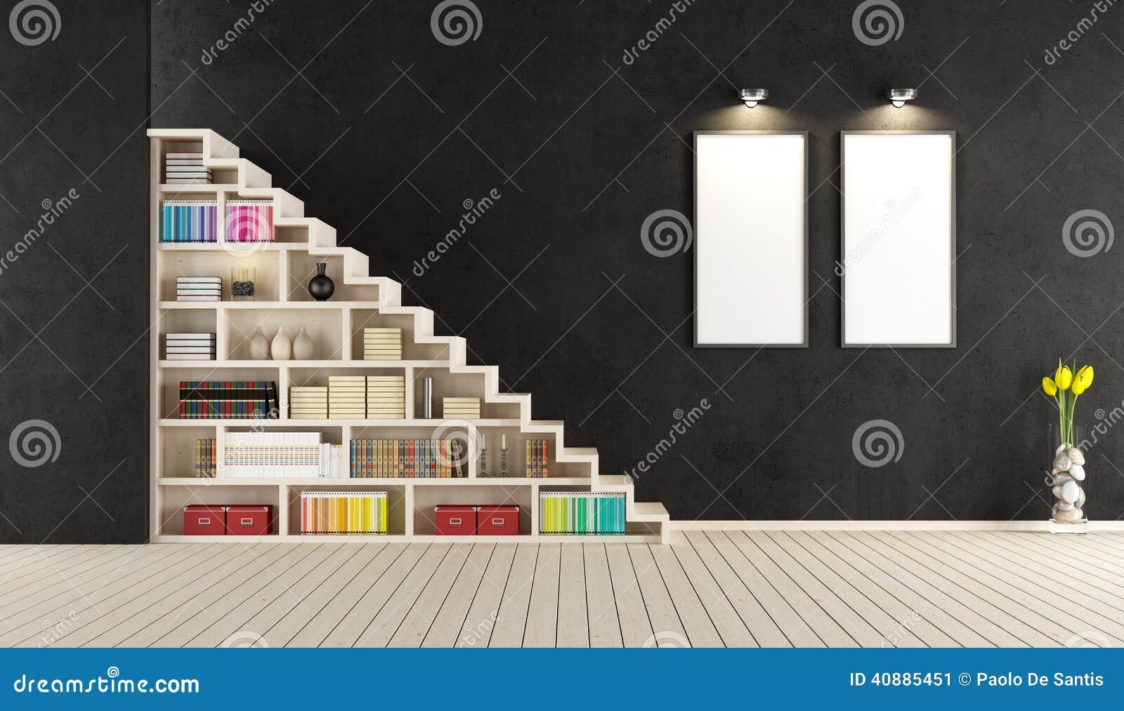 Ikea woonkamer design - Moderne houten trap ...