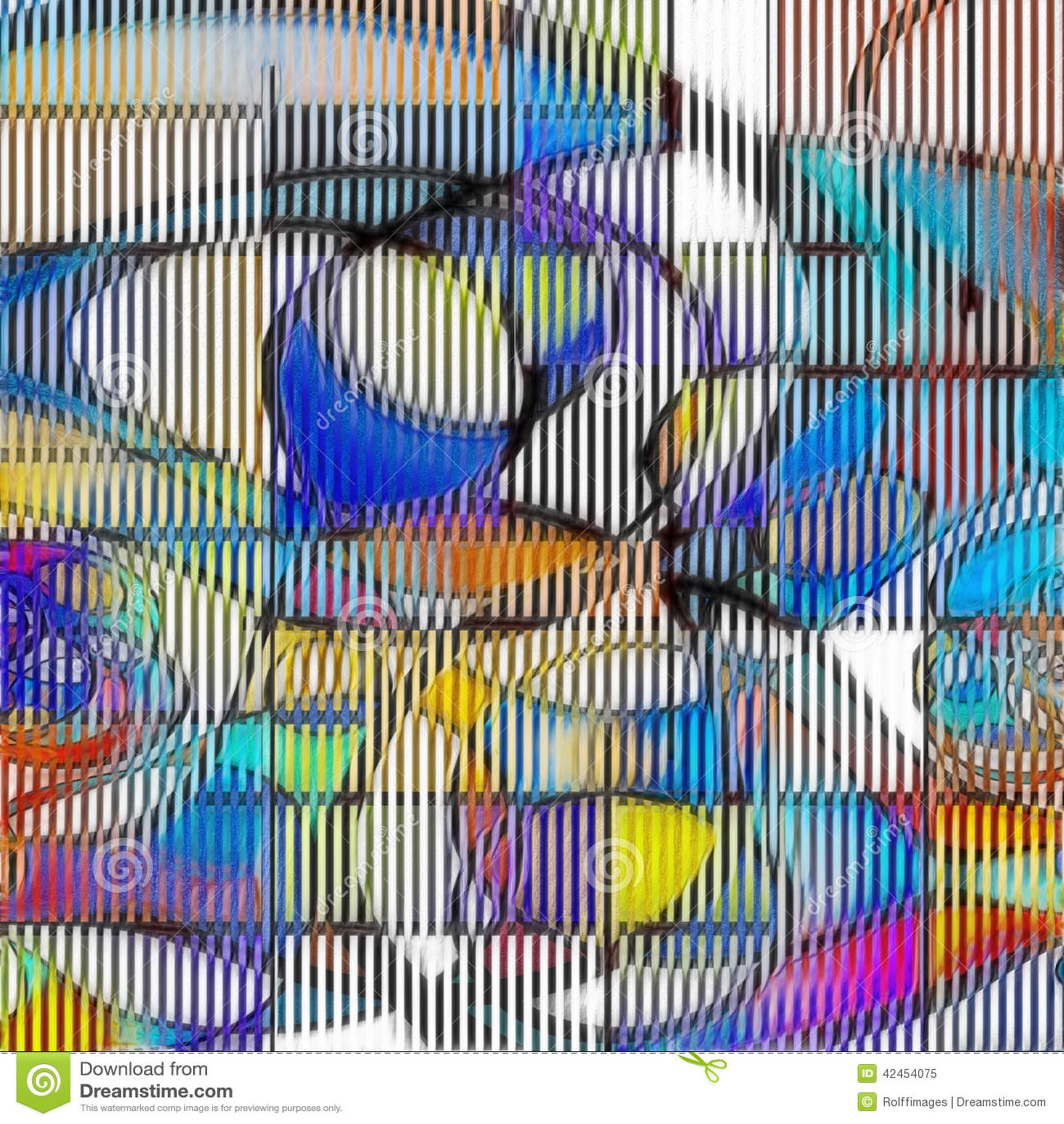 Moderner Art Abstract