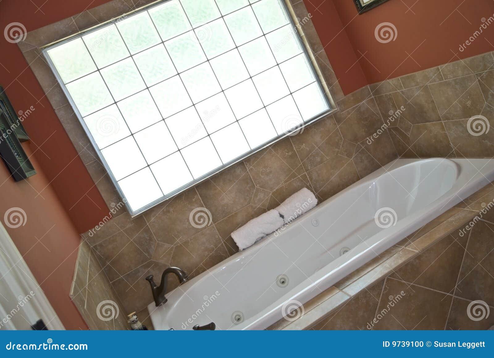 Moderner Bad-/Wanne-Bereich Stockfoto - Bild von auslegung ...