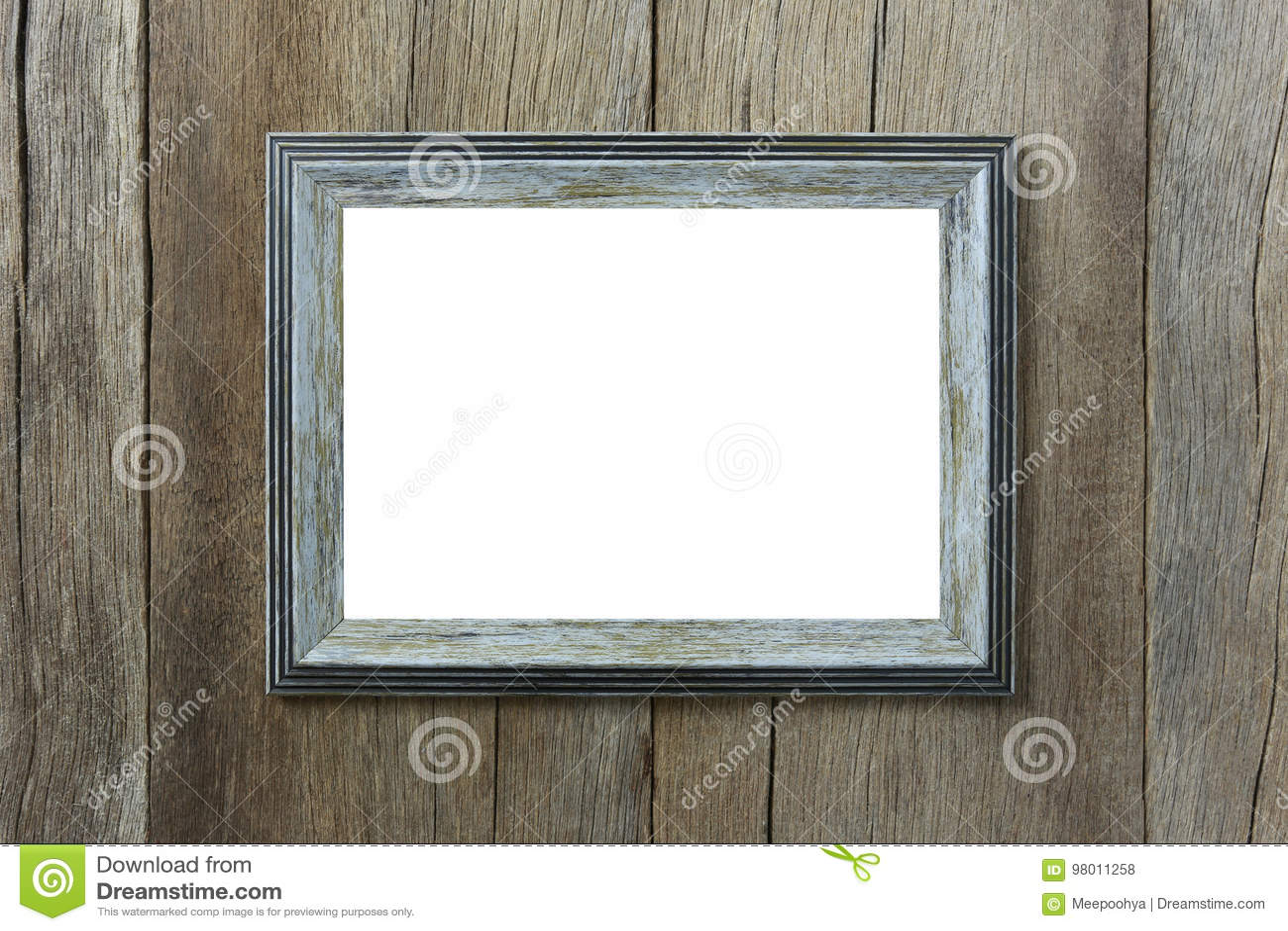 Moderner Bilderrahmen Auf Hölzerner Wand Stockfoto - Bild von bild ...