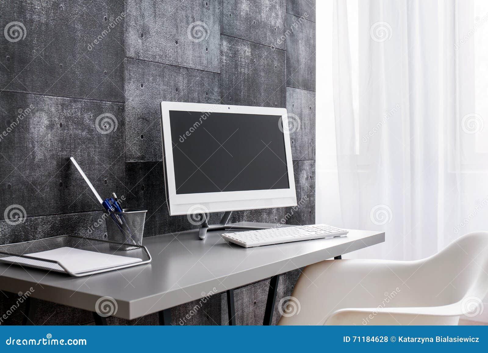 Moderner Computertisch Für Die, Die Minimalismus Lieben