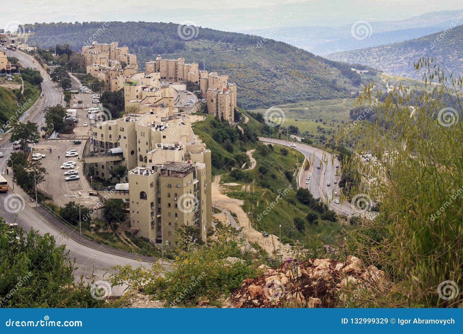 Moderner Entwicklungsbezirk Safed, Israel