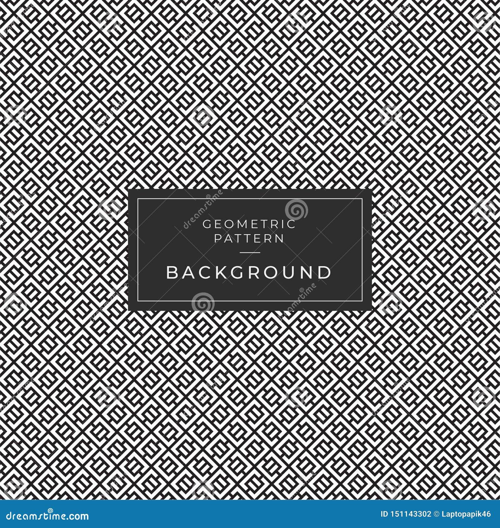 Moderner geometrischer einfarbiger Fliesen-Muster-Hintergrund