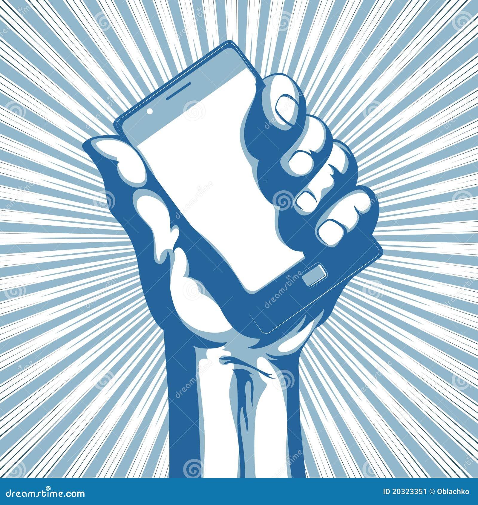 Moderner Handy