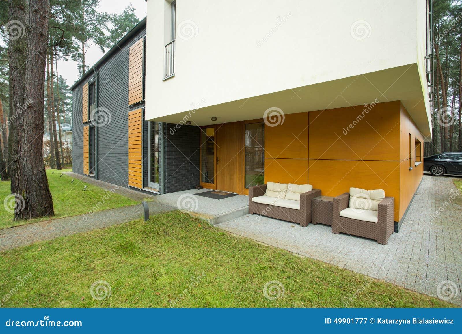 Amüsant Moderne Hauseingänge Ideen Von Pattern Moderner Eingang Stockbild. Bild Von ,