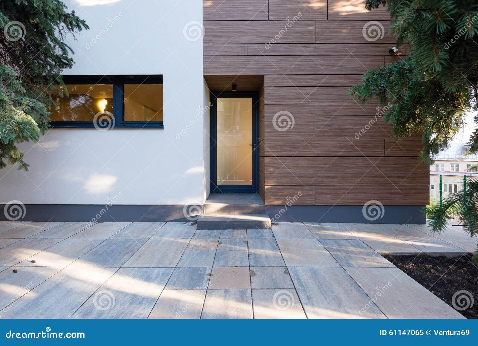 Amüsant Moderne Hauseingänge Referenz Von Pattern Moderner Eingang Stockbild. Bild Von Leuchte,