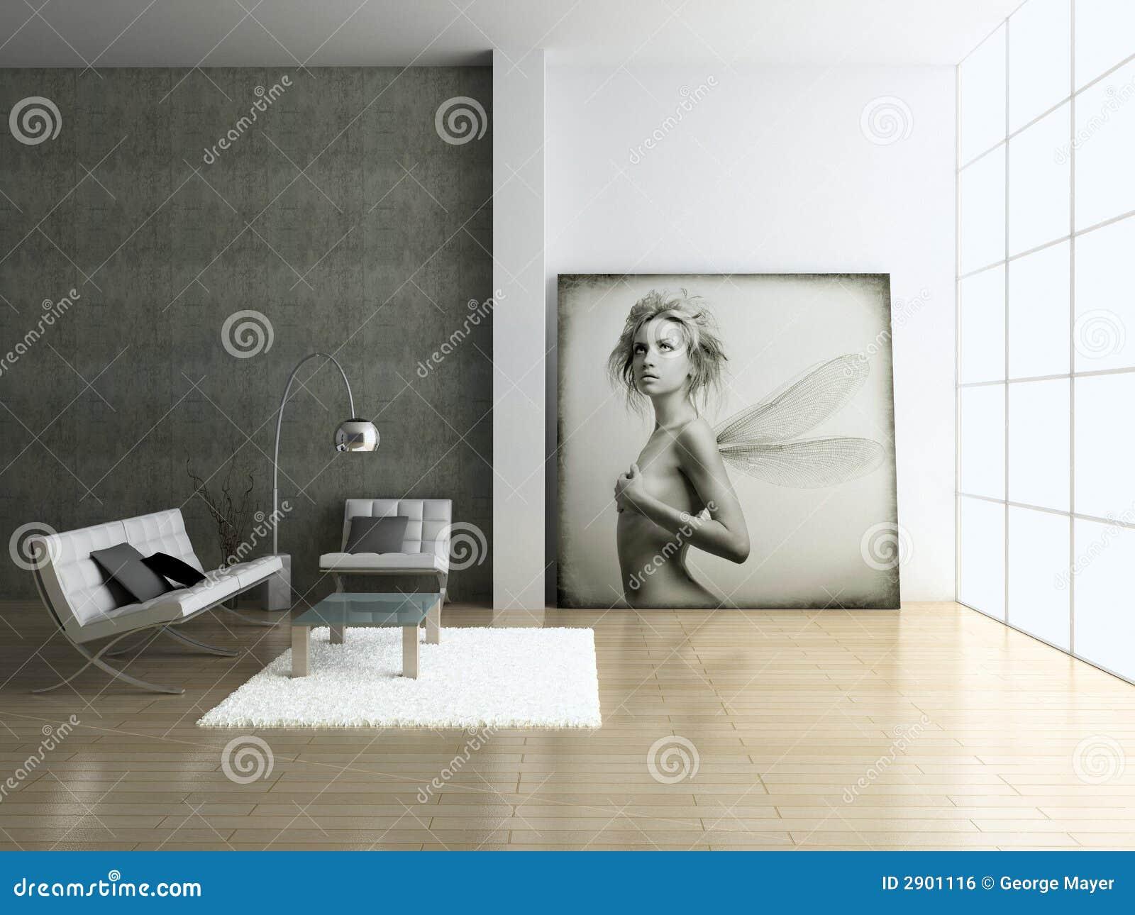 Moderner innenraum lizenzfreies stockbild bild 2901116 for Innenraum designer programm