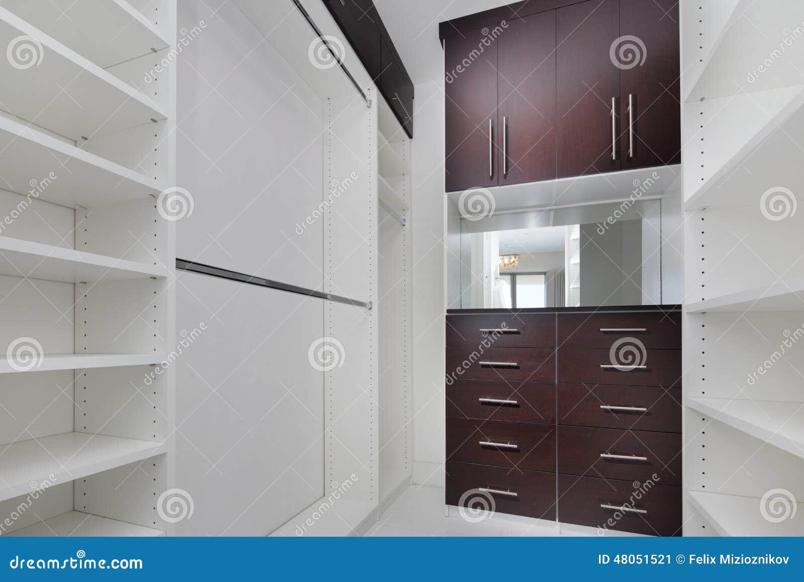 Moderner Wandschrank Stockbild Bild Von Auslegung Leer 48051521