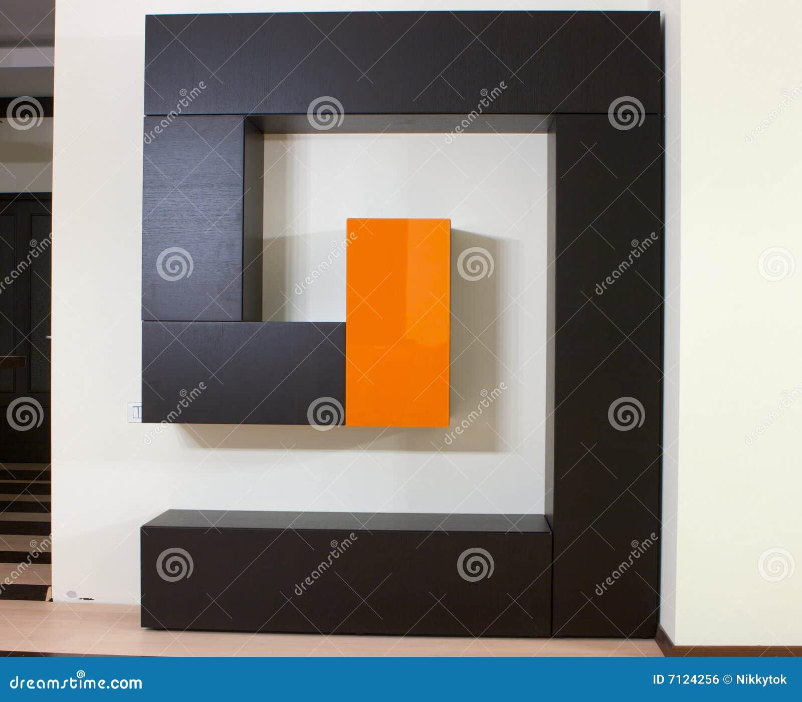Moderner Wandschrank Stockfoto Bild Von Weit Mobel Fashion 7124256