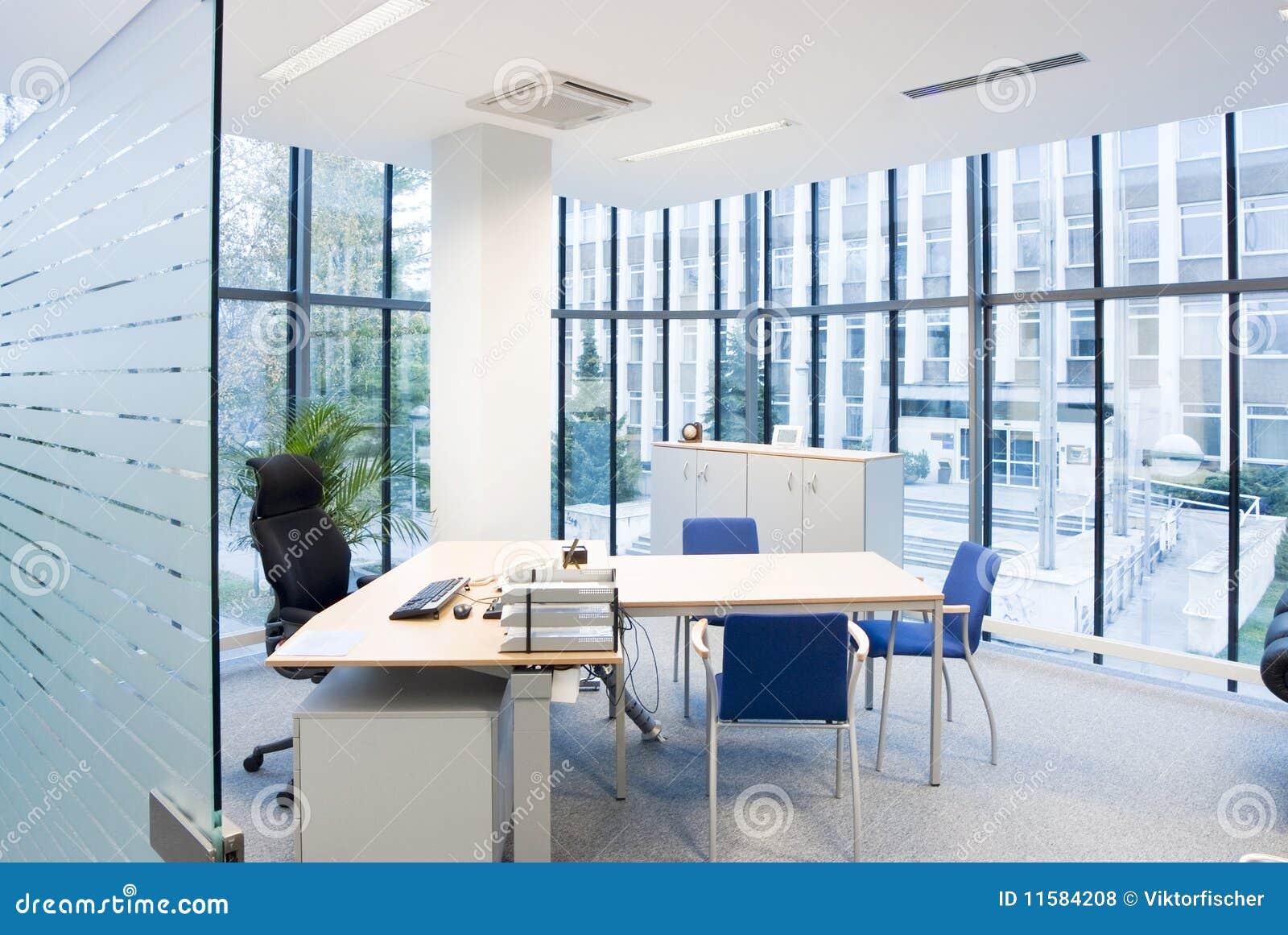 Modernes büro design  Modernes Büro Stockbild - Bild: 26291991