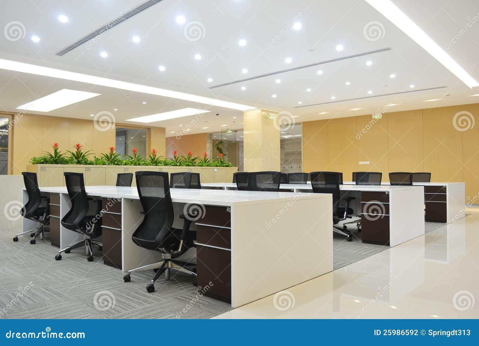 Modernes büro design  Modernes Büro Stockfotografie - Bild: 25986592