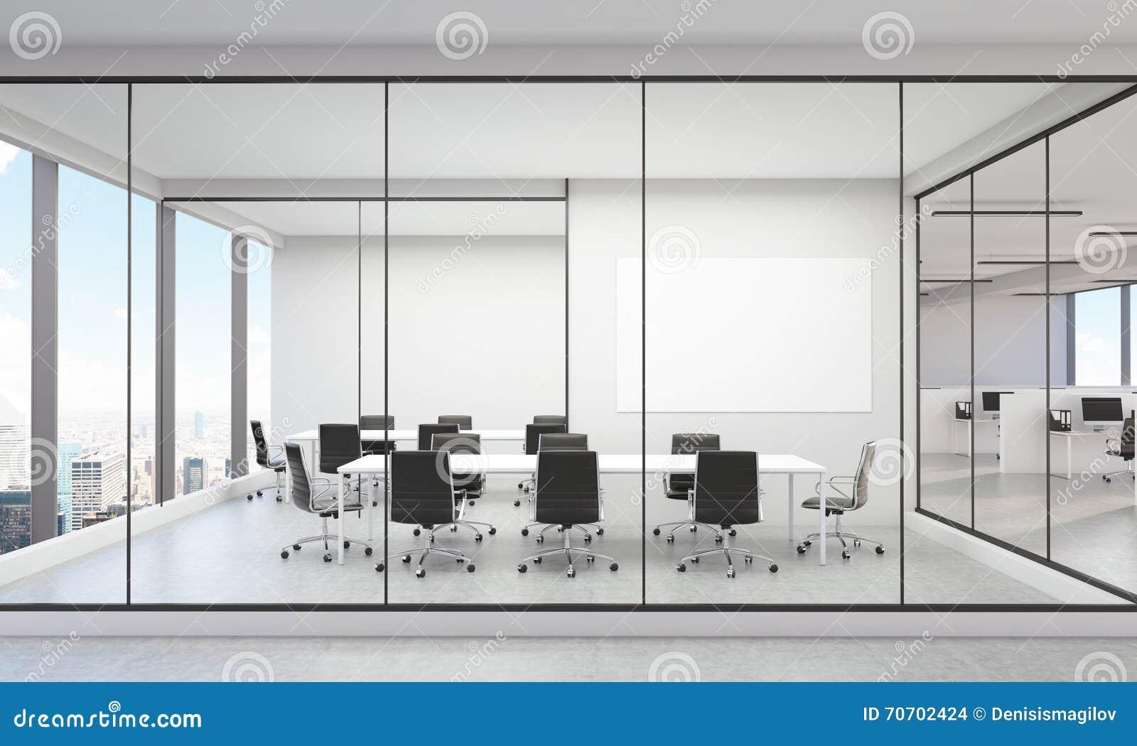 Modernes Buro Innen Ny Stock Abbildung Illustration Von Stadt