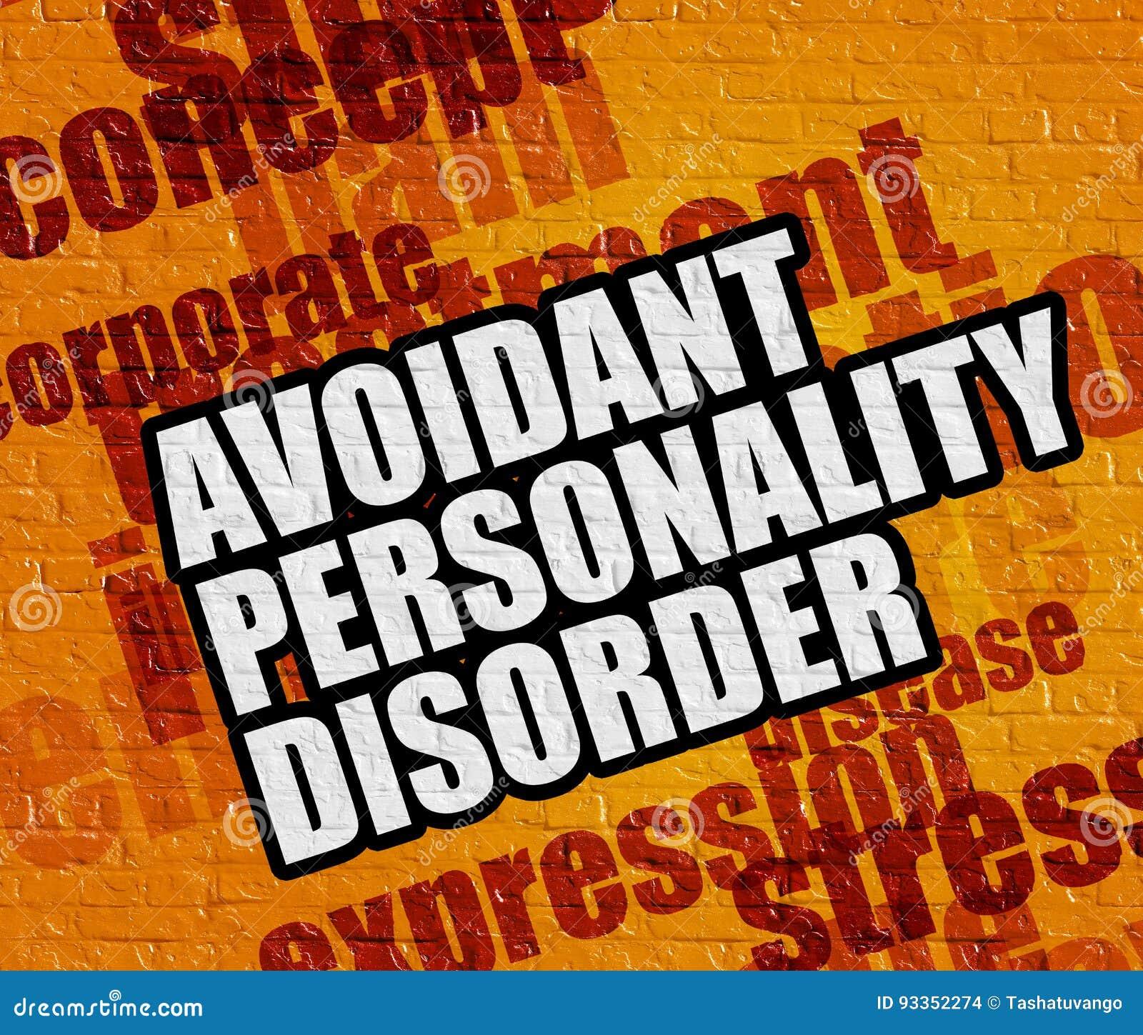 Selbstunsichere persönlichkeitsstörung