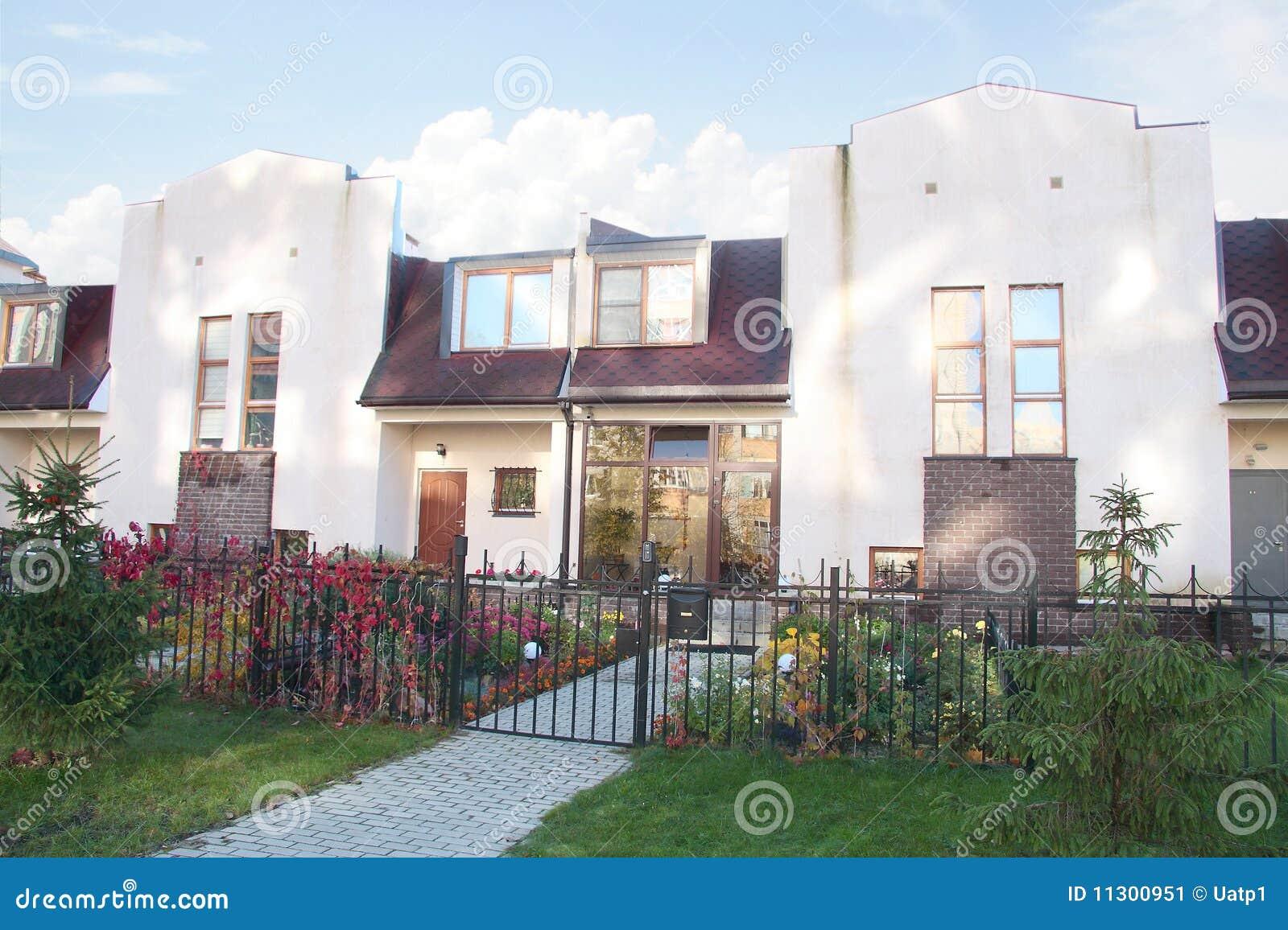 Modernes Häuschen
