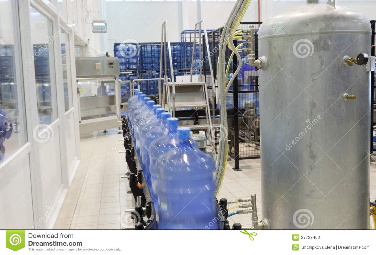 Modernes industrielles System