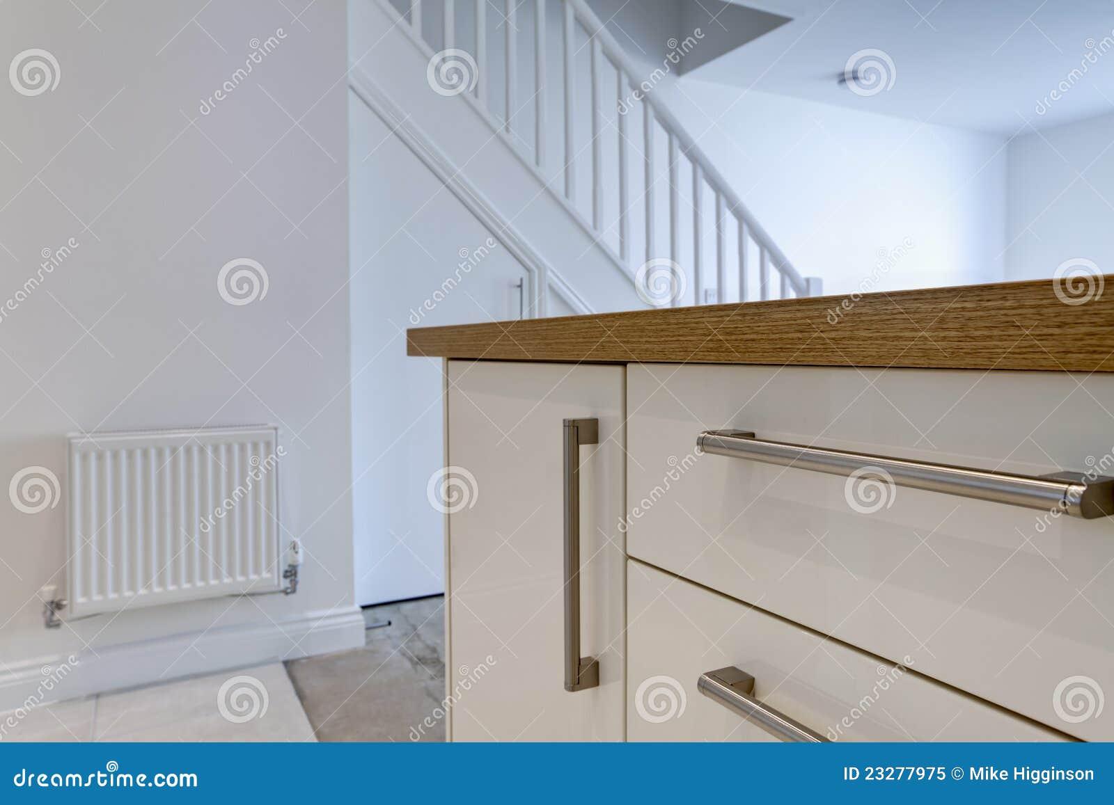 Modernes Küchedetail