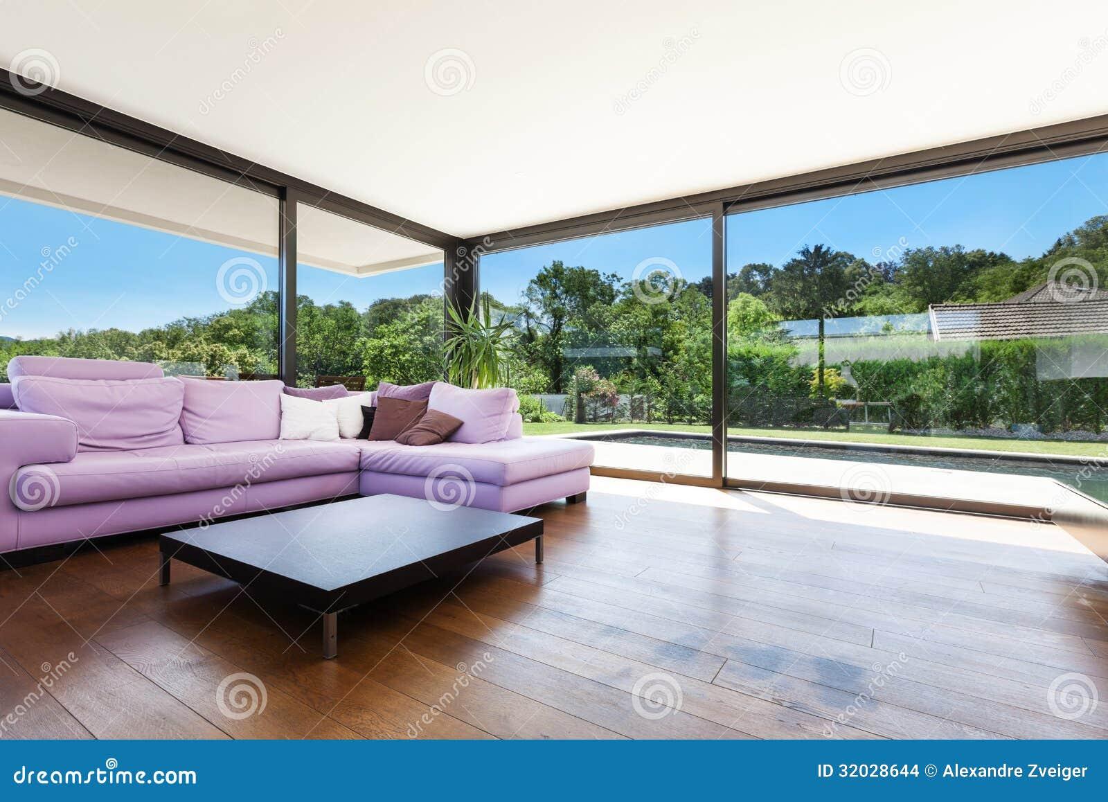 Modernes landhaus innen stockfoto bild von architektur for Modernes landhaus