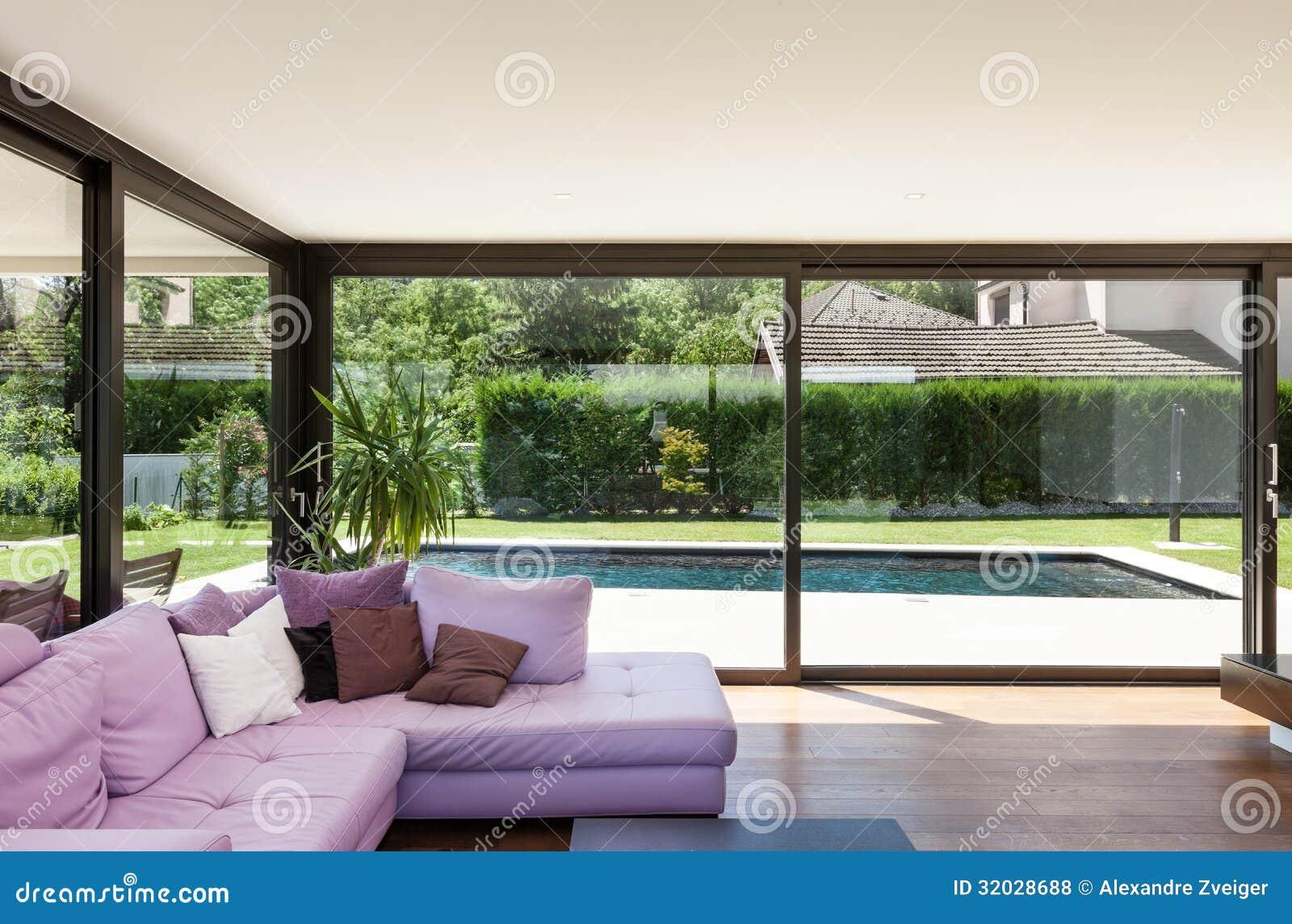 Modernes landhaus innen lizenzfreie stockfotos bild for Modernes landhaus