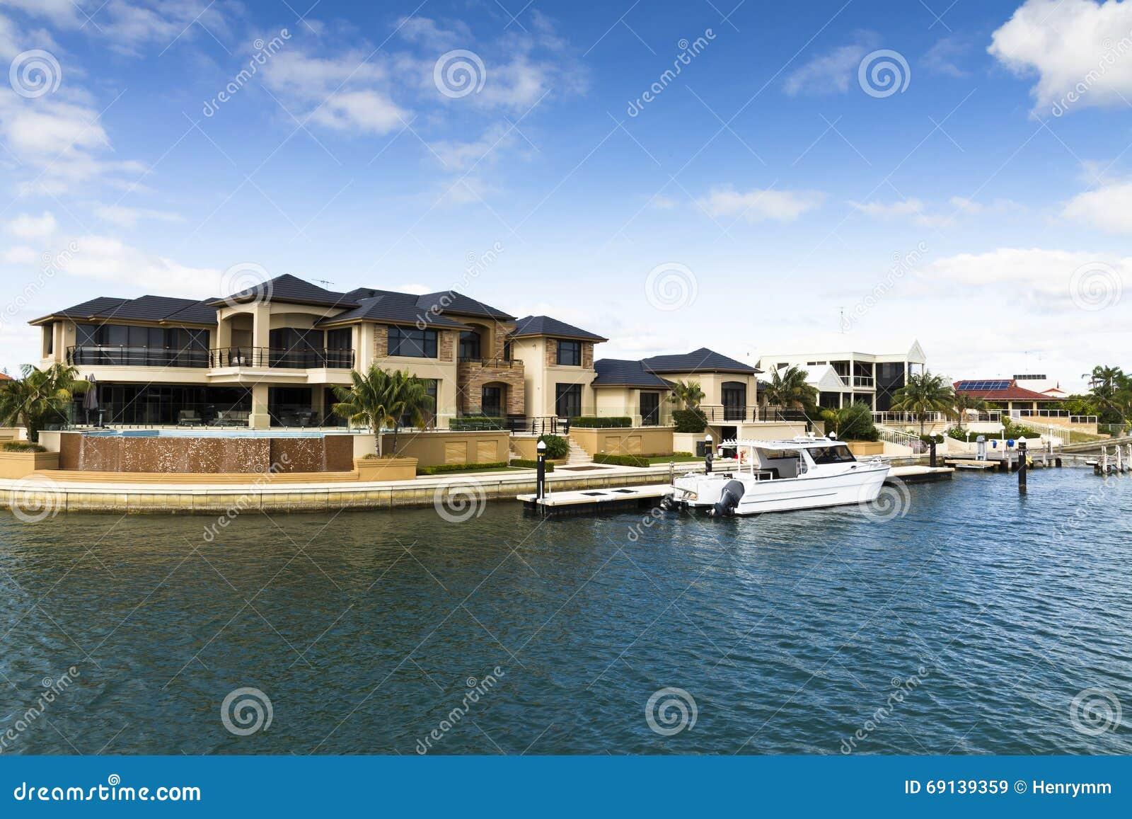 Download Modernes Leben In Australien Stockbild   Bild Von Wohnsitz,  Gehäuse: 69139359