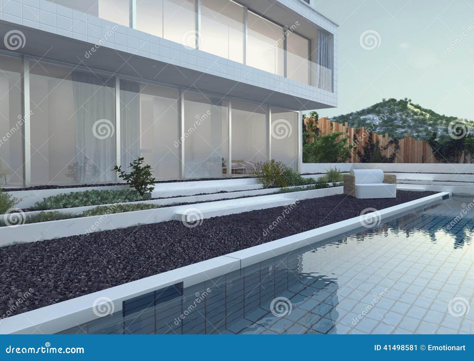 Modernes Luxushaus mit Swimmingpool