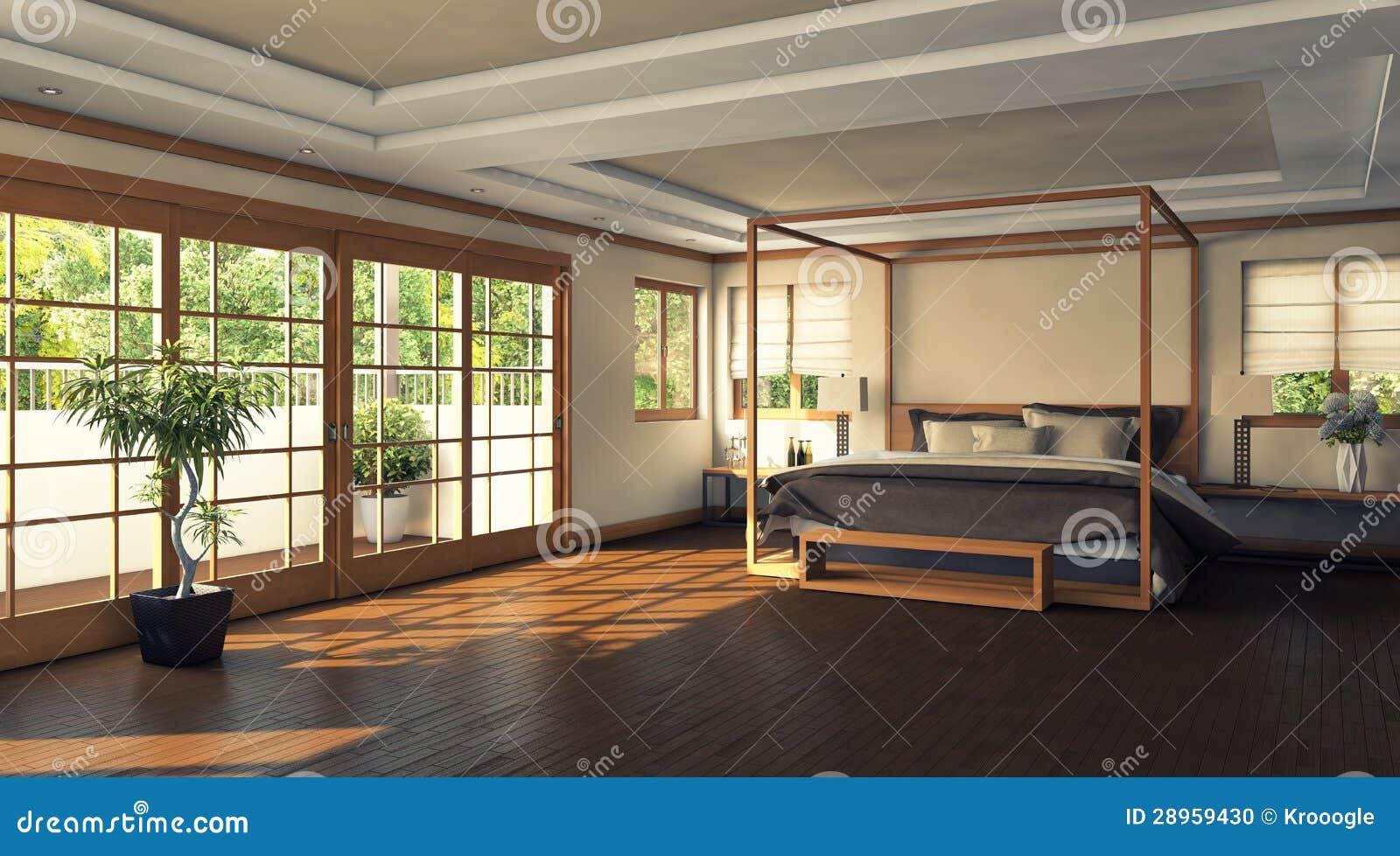 Modernes schlafzimmer stockfoto bild 28959430
