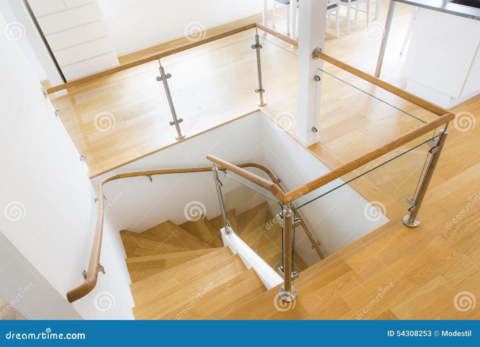 Modernes Treppenhaus Stockbild Bild Von Modern Dachboden 54308253