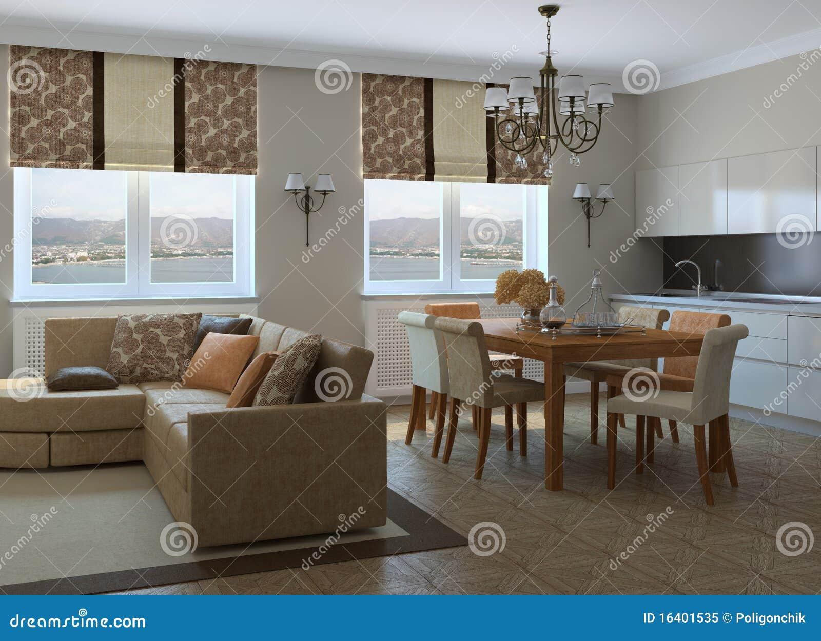 Modernes wohnzimmer lizenzfreies stockfoto bild 16401535 for Wohnzimmer junggeselle