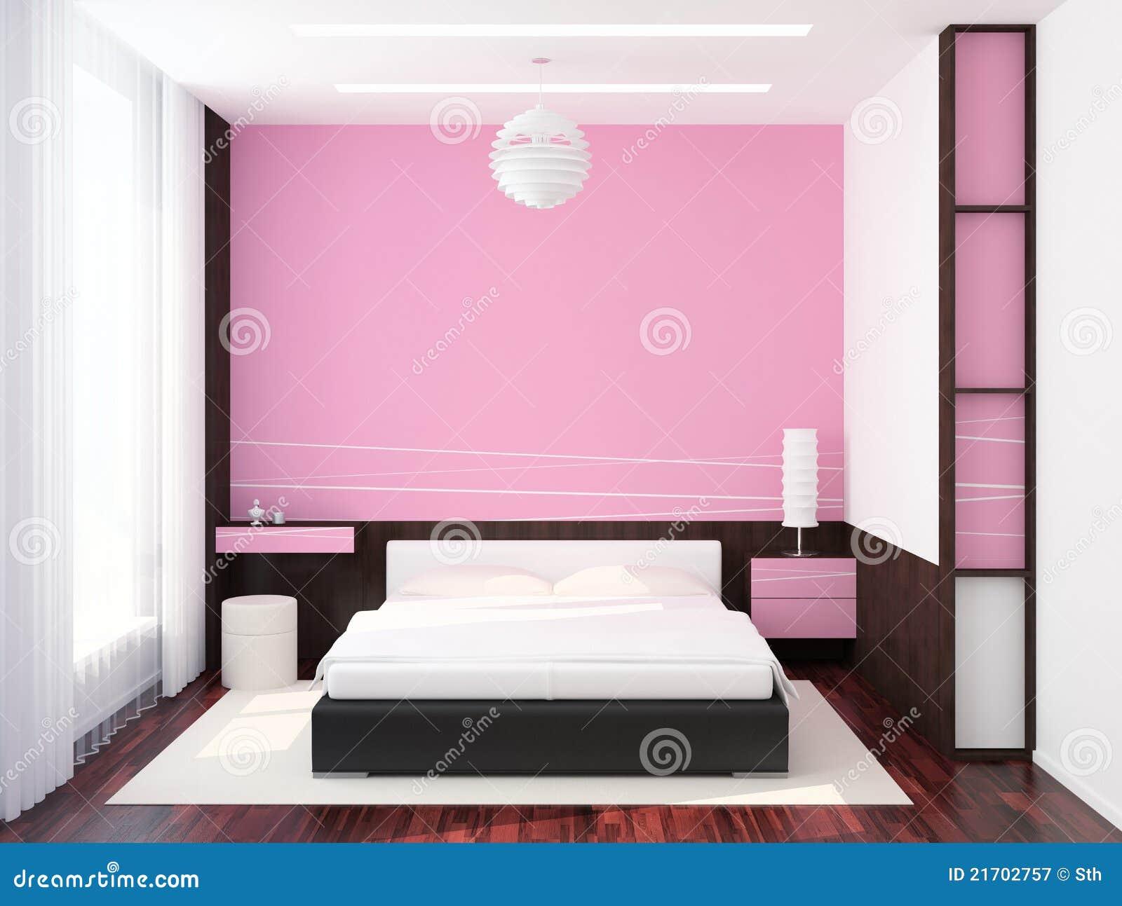 Moderno interior del dormitorio