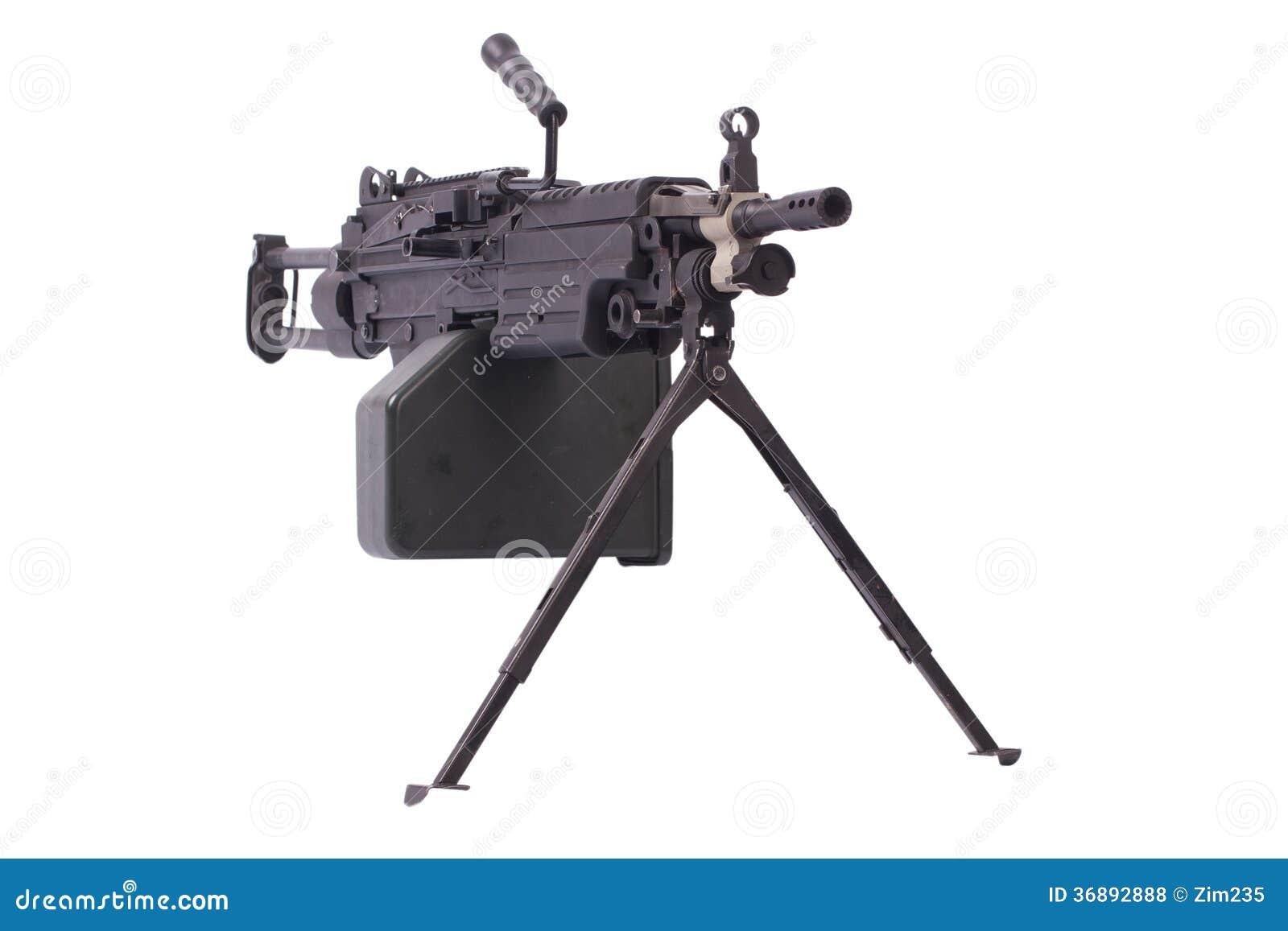 Download Moderno Mitragliatrice Dell'esercito Americano Fotografia Stock - Immagine di portata, scomparto: 36892888