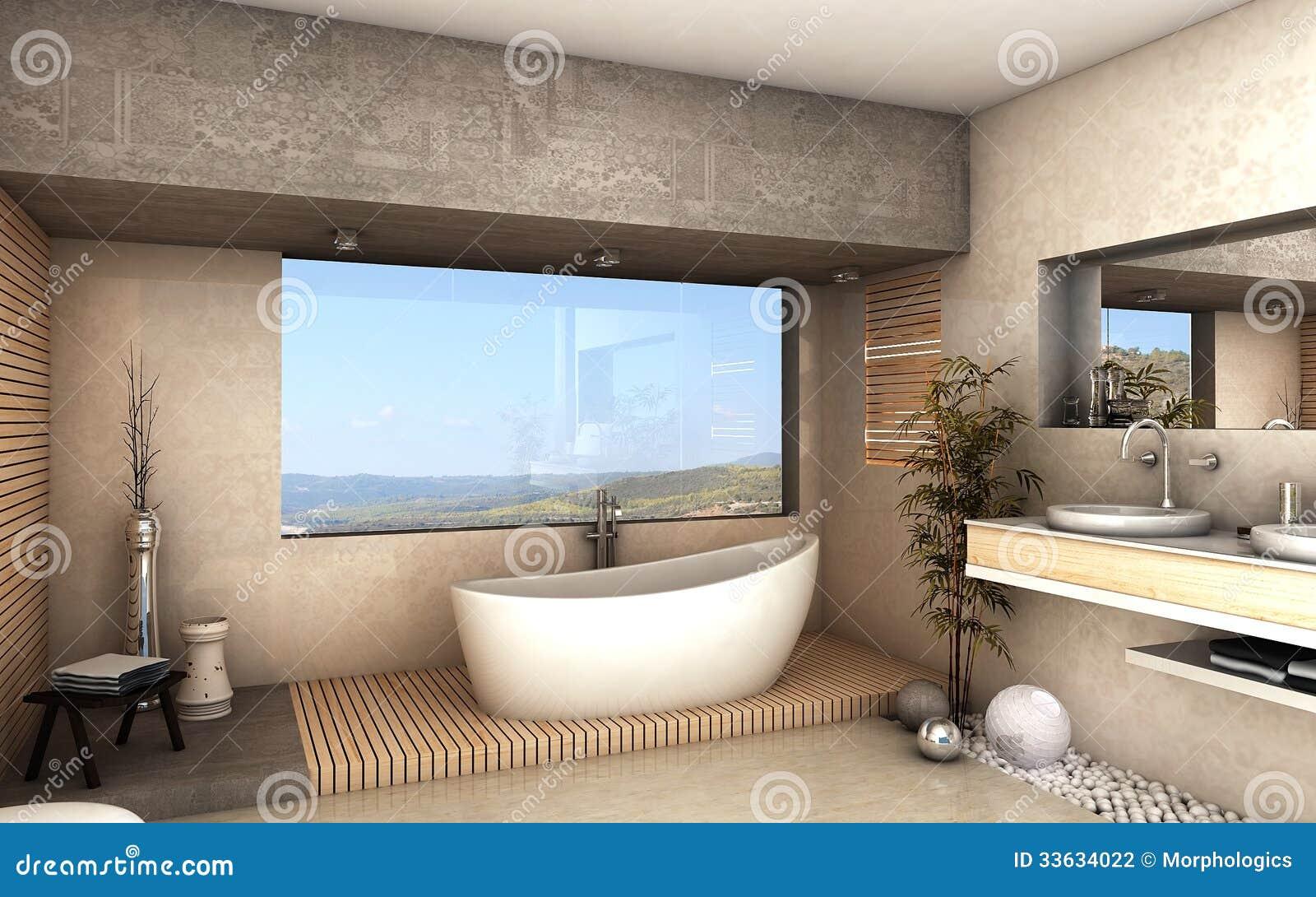 Modernt badrum arkivbild   bild: 33634022