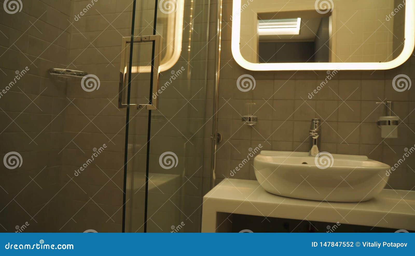 Modernt duschrum