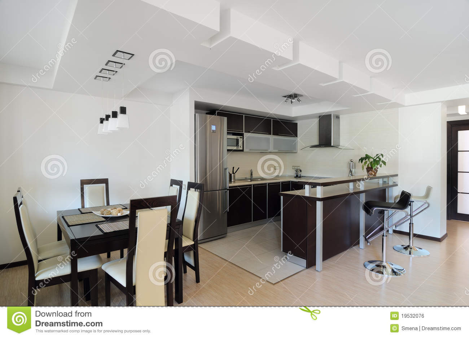 Modernt inre kök