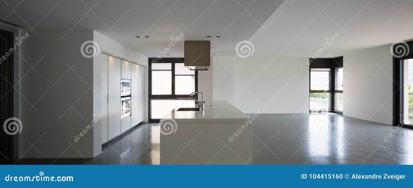 Modernt kök i ny falt