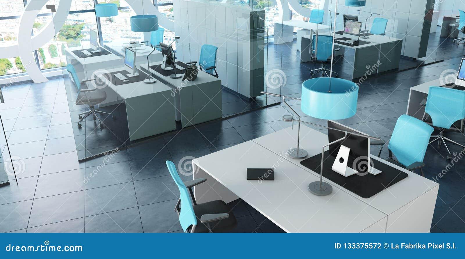 Modernt kontor i torn