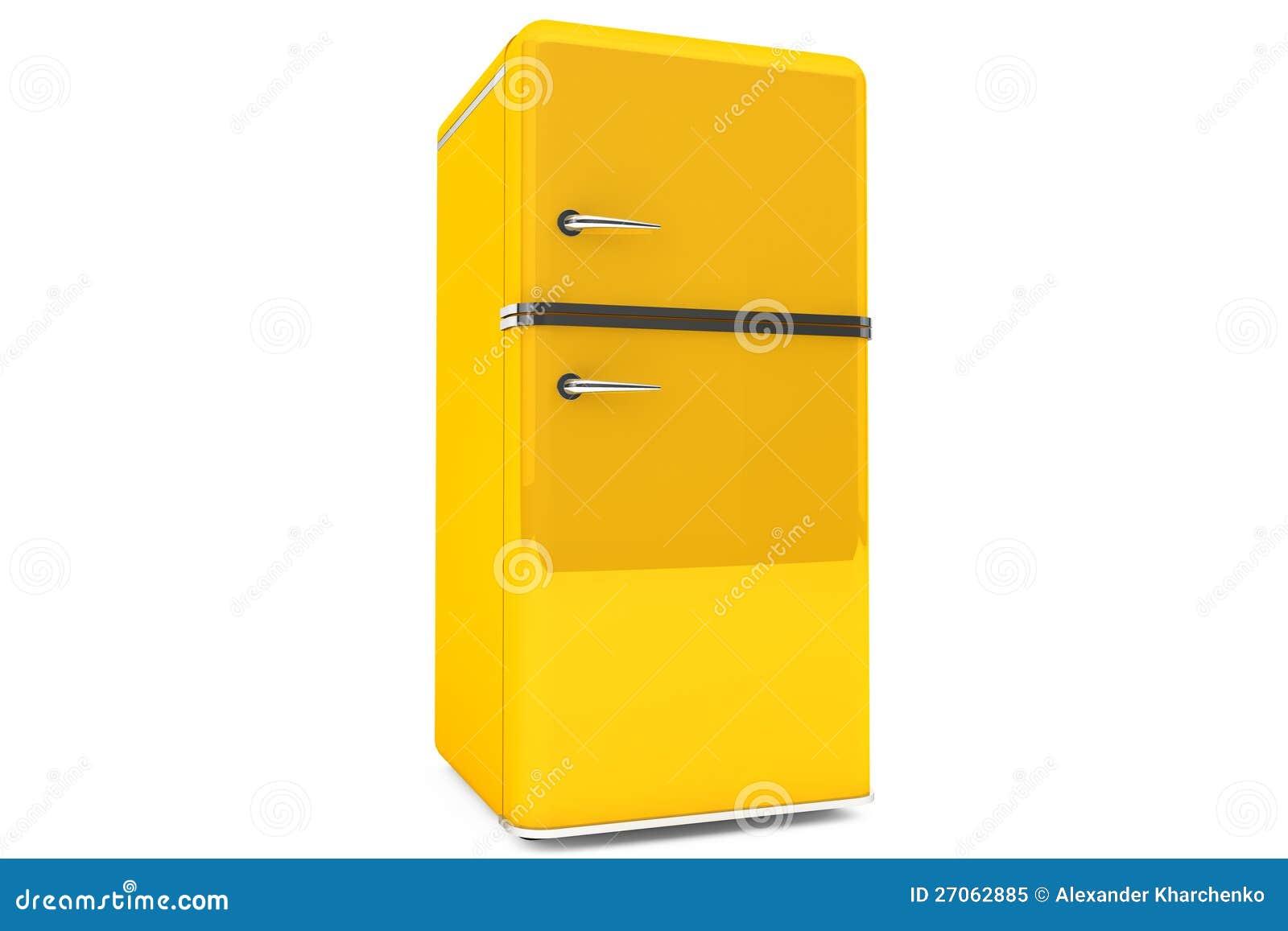 Modernt kylskåp