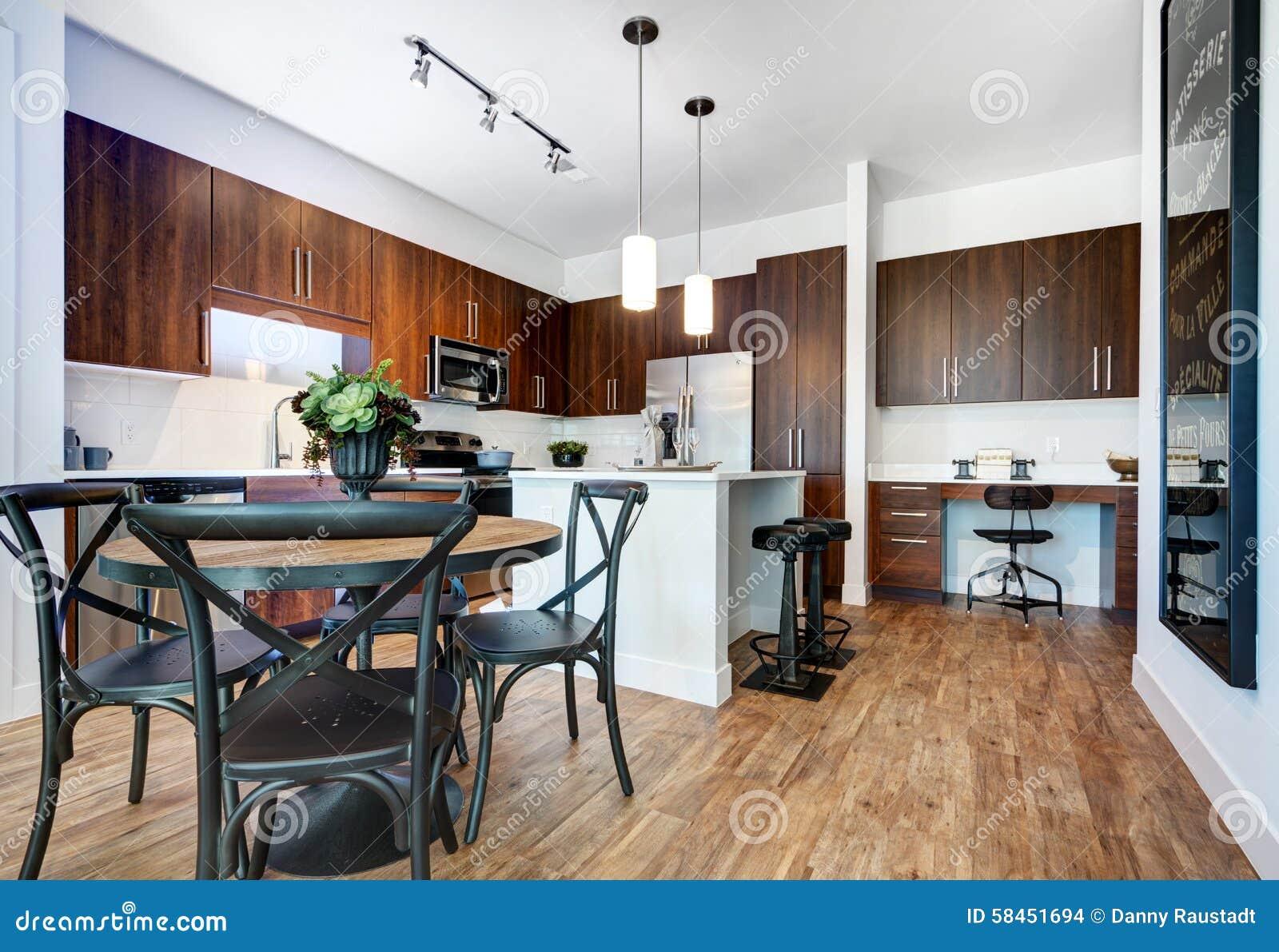 Modernt omdanat kök