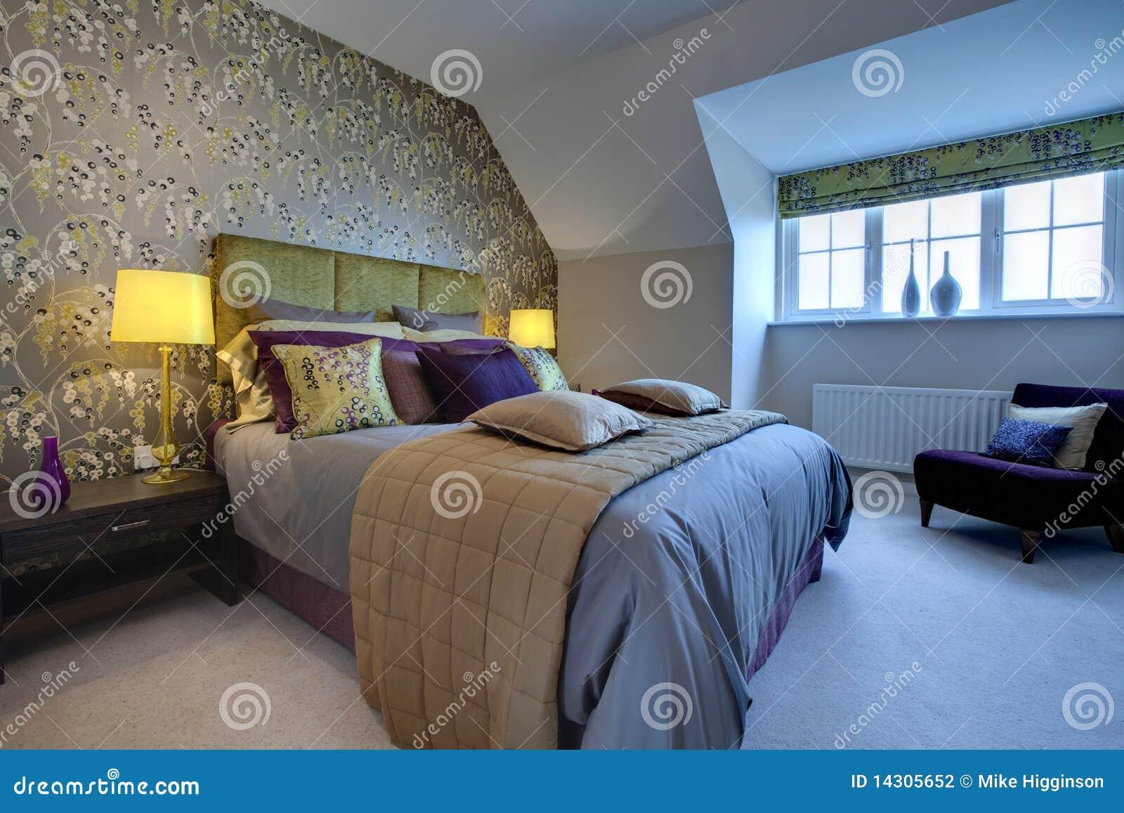 Modernt rikt för sovrum