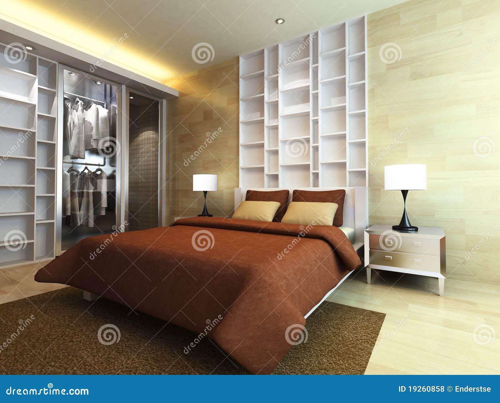 Modernt sovrum