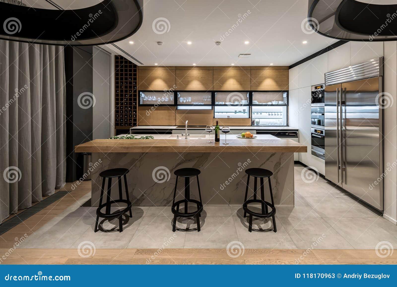 Modernt stilfullt för kök