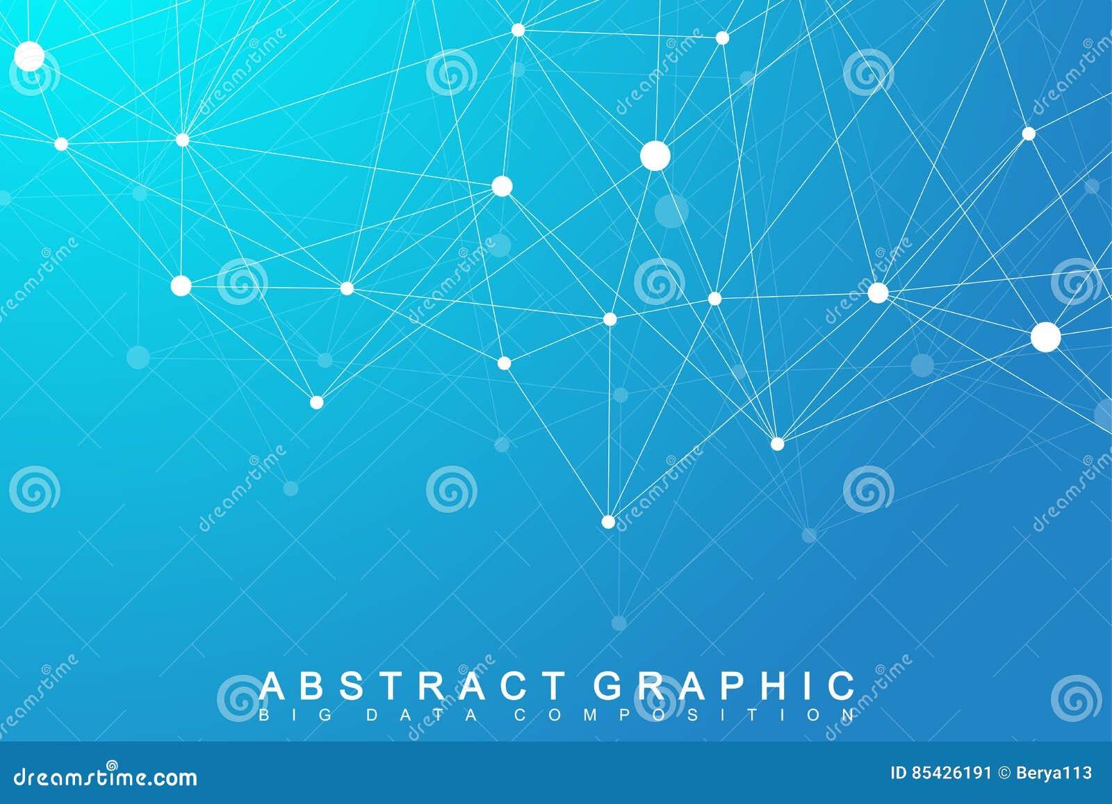 Modernt strukturmolekylDNA Atom Molekyl och kommunikationsbakgrund