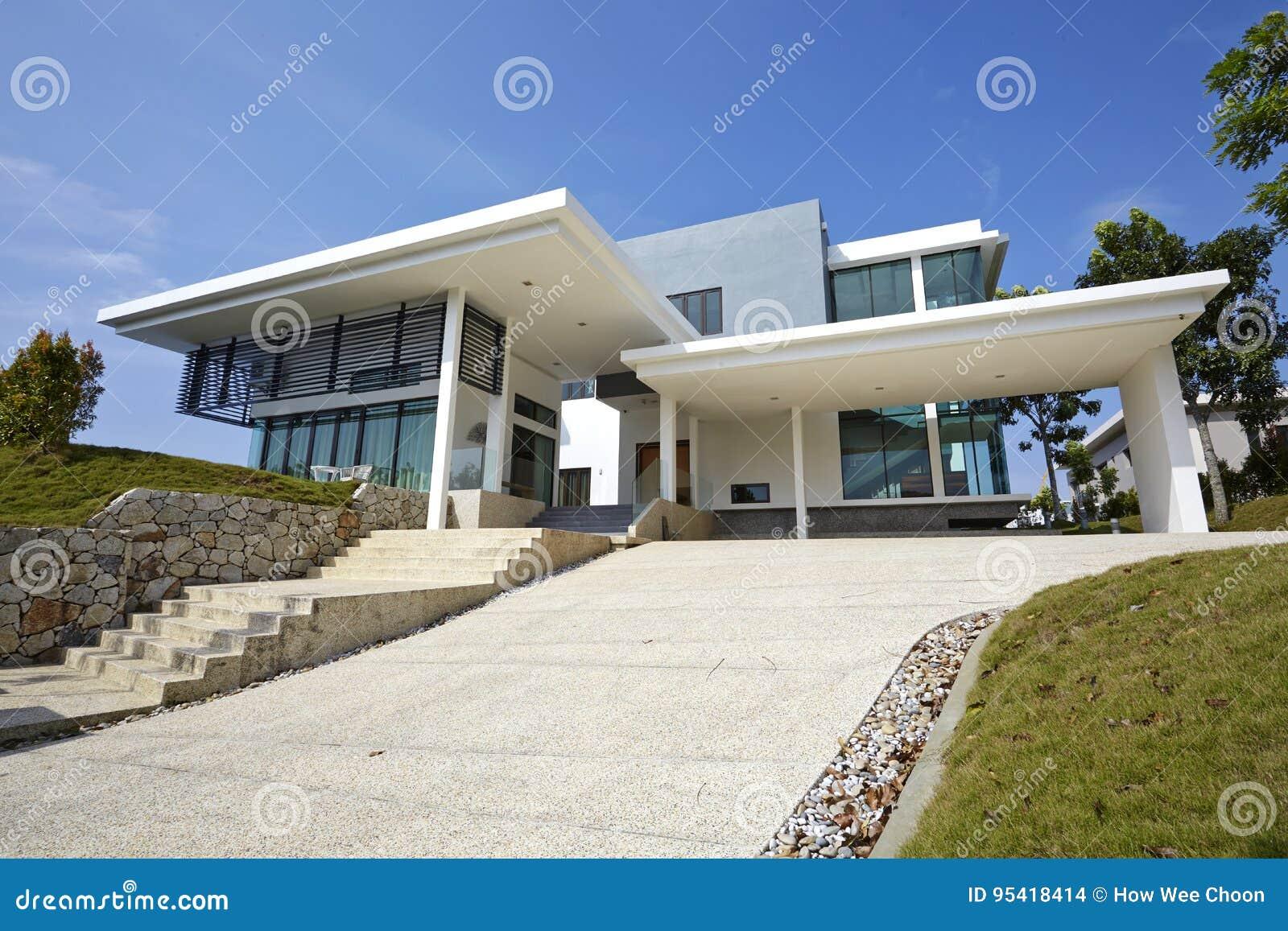 Modernt ytterhus