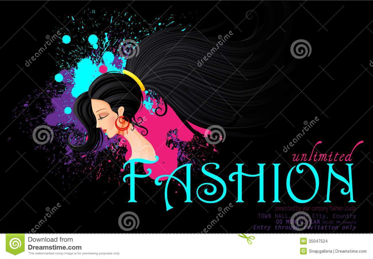 Clip art for fashion show 35
