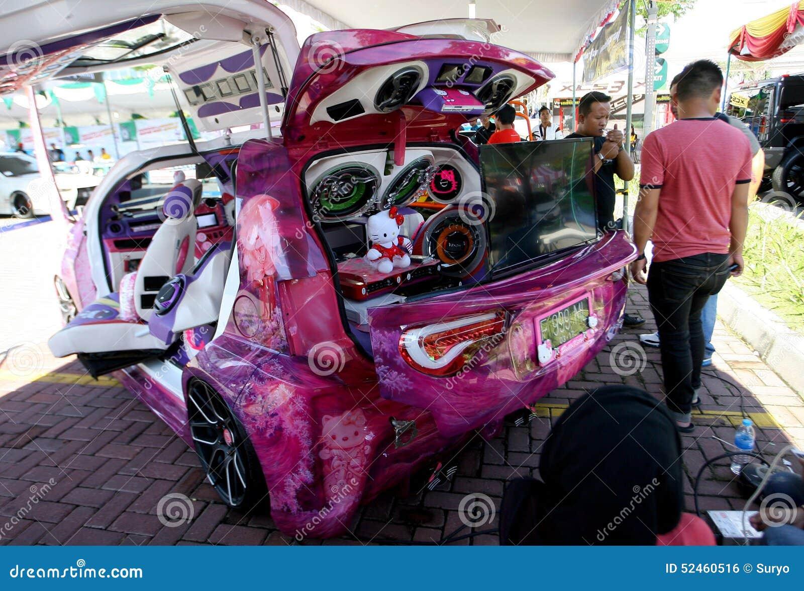 Modification Cars Editorial Photo Image