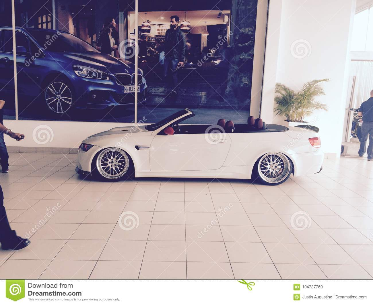 Bmw M3 Convertible Editorial Stock Image Image Of Modified 104737769