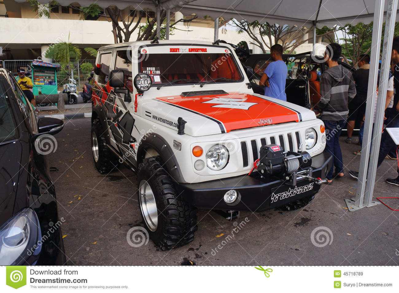 Modified car editorial stock image  Image of central - 45718789