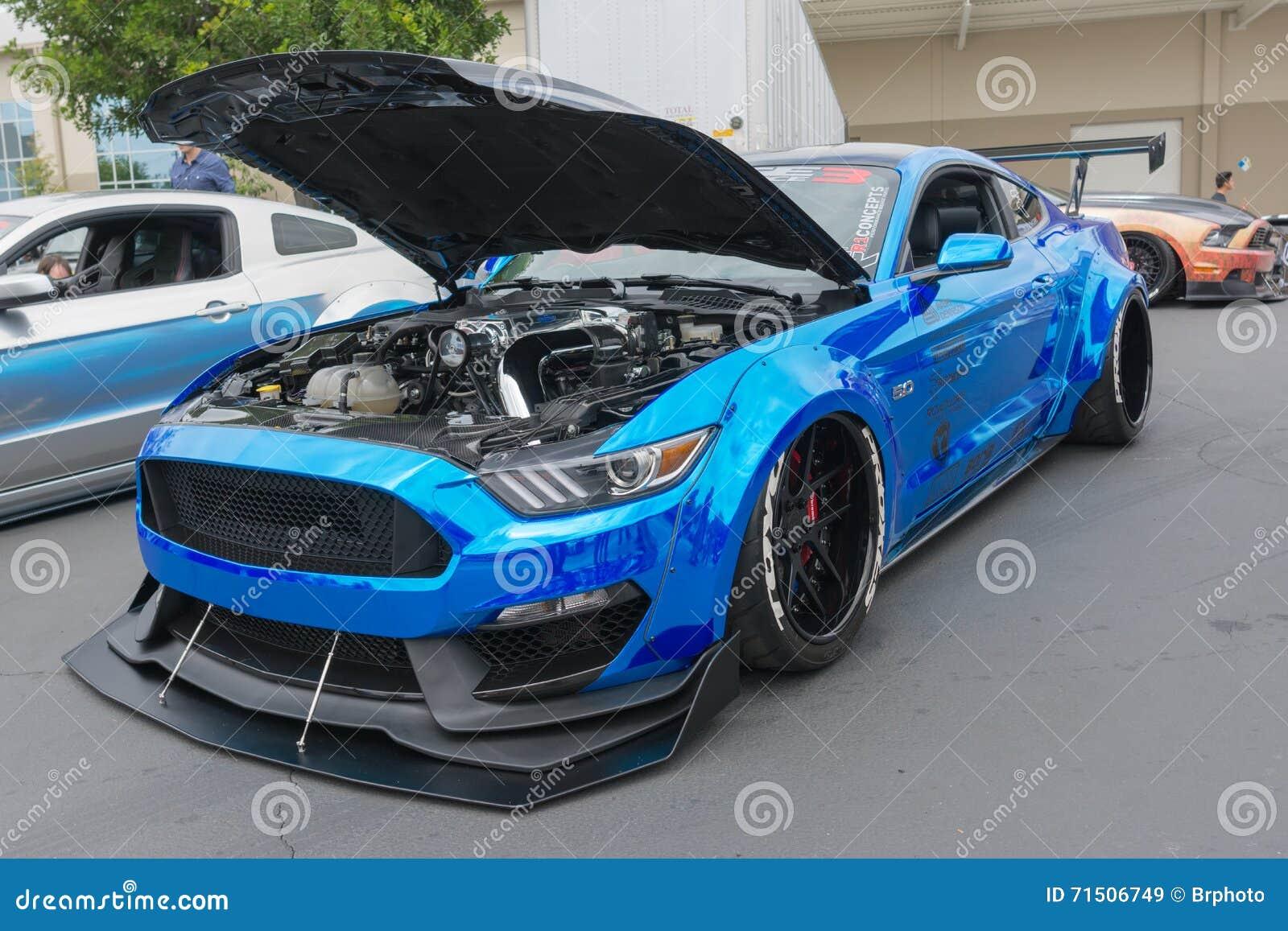 car ... & Modified Ford Mustang Editorial Stock Image - Image: 71506749 markmcfarlin.com