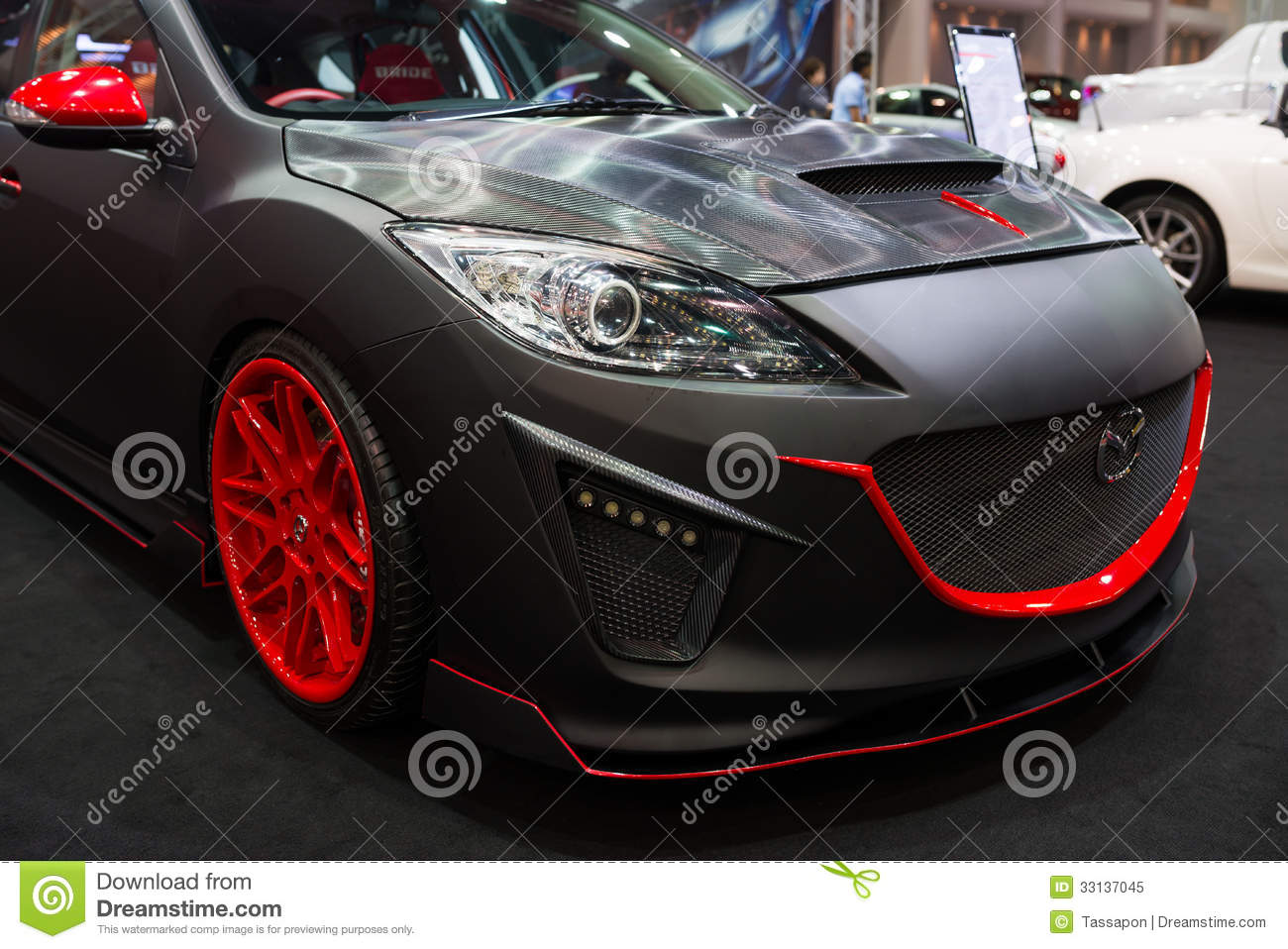 Modified Mazda 2 Display Stock Images Download 28