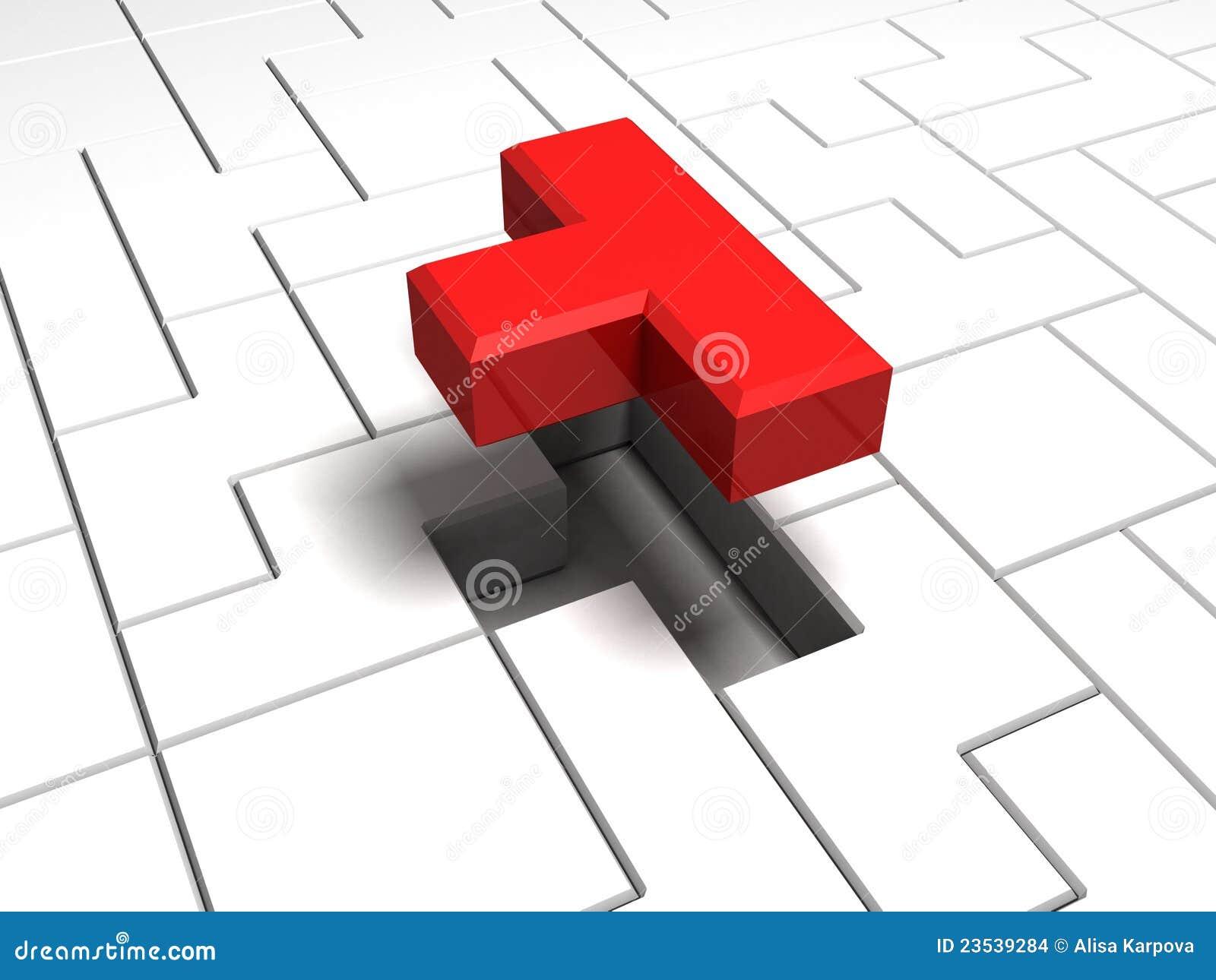 Modigt interlocking en del red