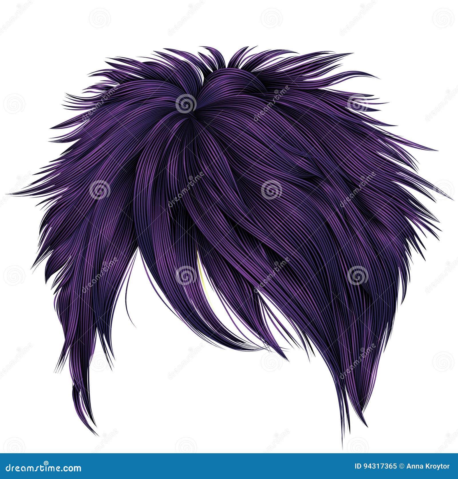 haare aubergine färben