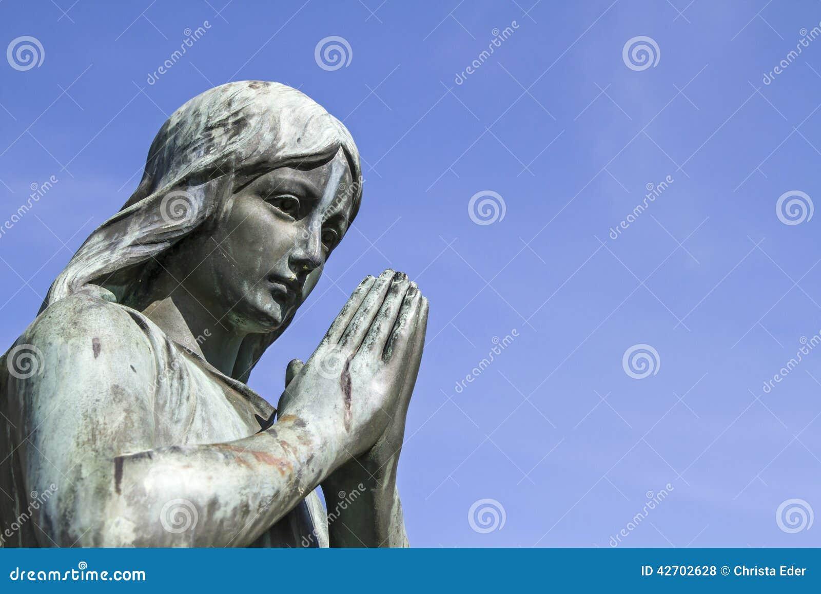Modlenie anioł